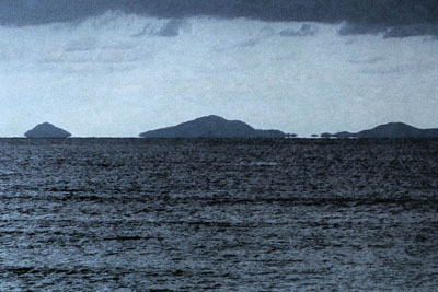 浮島現象(伊平屋島)