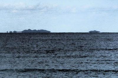 浮島現象(伊是名島)