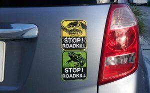 STOP!ROADKILLマグネットステッカー
