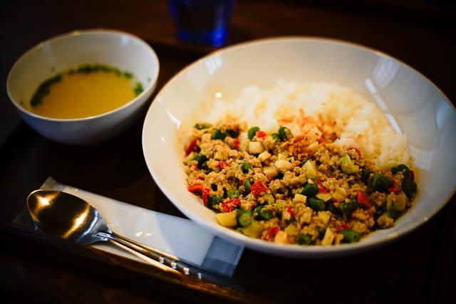 名護アジア食堂みのり屋 ドライグリーンカレー