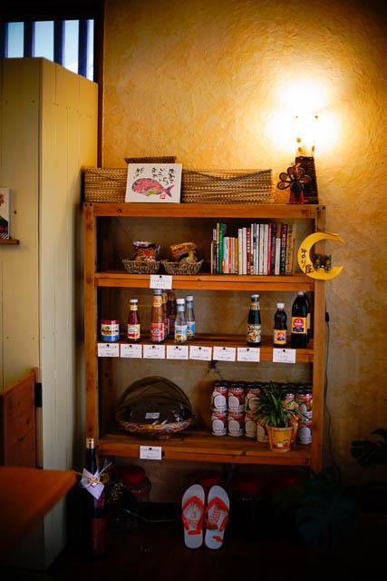 名護アジア食堂みのり屋 調味料の販売