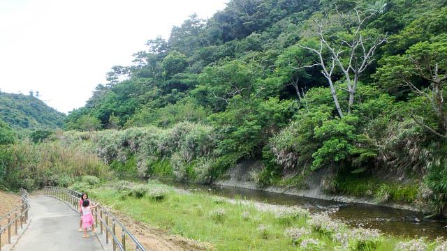 東村立山と水の生活博物館 福地川