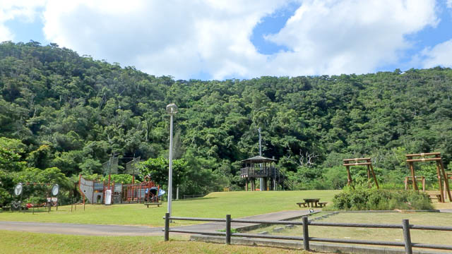 東村立山と水の生活博物館 福地公園