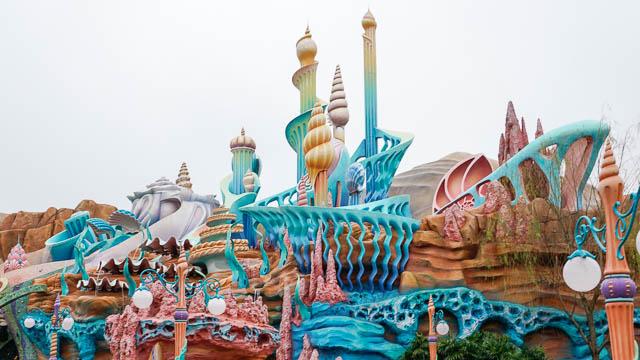 【子供と行くディズニーシー】おすすめマーメイドラグーンの海底王国なら暑さ・寒さ・雨もへっちゃら!