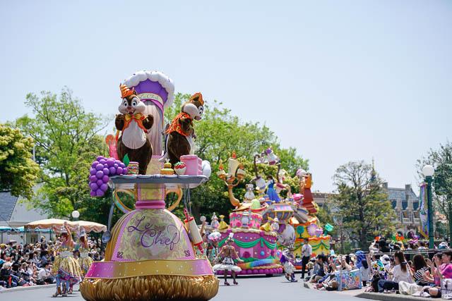 """【35周年ディズニーランド】""""Happiest Celebration!""""で撮影を楽しむ祝祭のパーク(その2:ドリーミング・アップ!)"""
