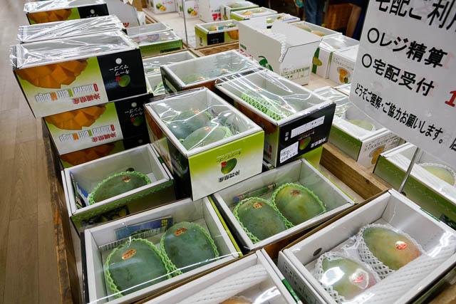 緑色だけど甘く濃厚ジューシーな沖縄キーツマンゴー