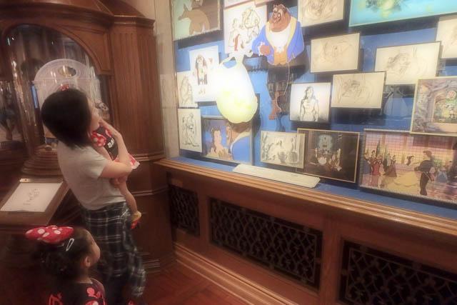 ディズニードローイングクラスで描いた絵を飾ろう-オススメの額縁は?