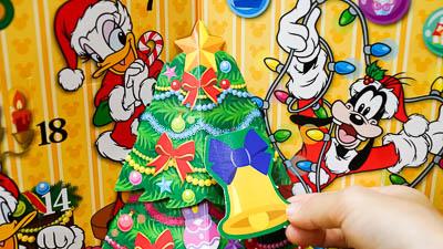 【ディズニーランド】買ってよかった!子供にもおすすめのクリスマスグッズ2018まとめ アドベントカレンダー